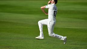 Craig Overton takes hat-trick in Somerset win