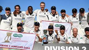 Warwickshire crowned Division Two champions