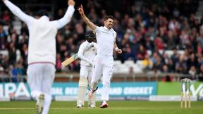 From the archive: James Anderson takes 10 wickets against Sri Lanka