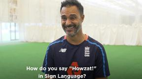 What's involved in representing England at deaf cricket?