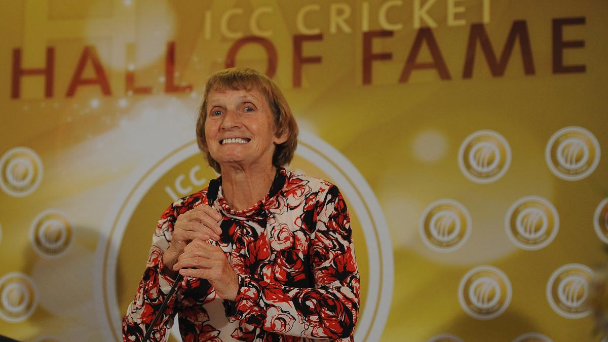 Enid Bakewell was inducted into the ICC Cricket Hall of Fame in 2012