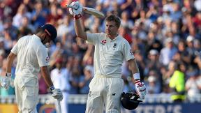 Watch Joe Root's second century as England captain