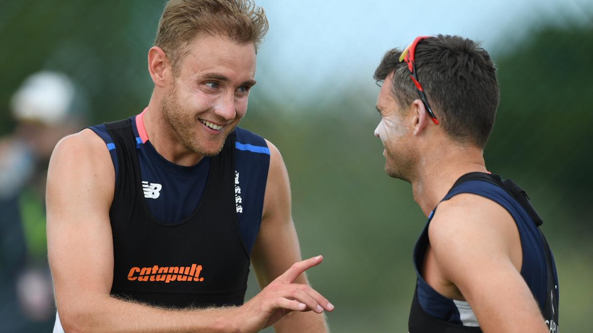 Stuart Broad and James Anderson now have over 1000 Test wickets between them