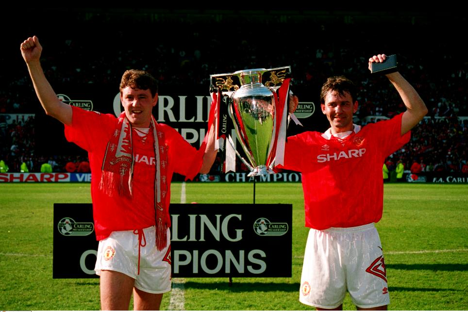 be5dcd28921 1993 94 Season Review  Man Utd at the double