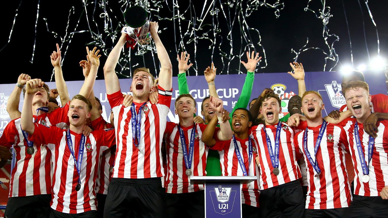 Southampton beat Blackburn in the 2014/15 U21 PL Cup final