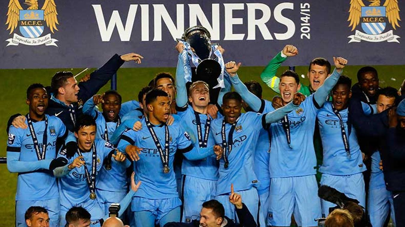 Manchester City were the 2014/15 winners