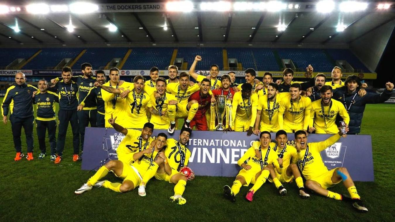 Villarreal B won the 2015/16 PL International Cup