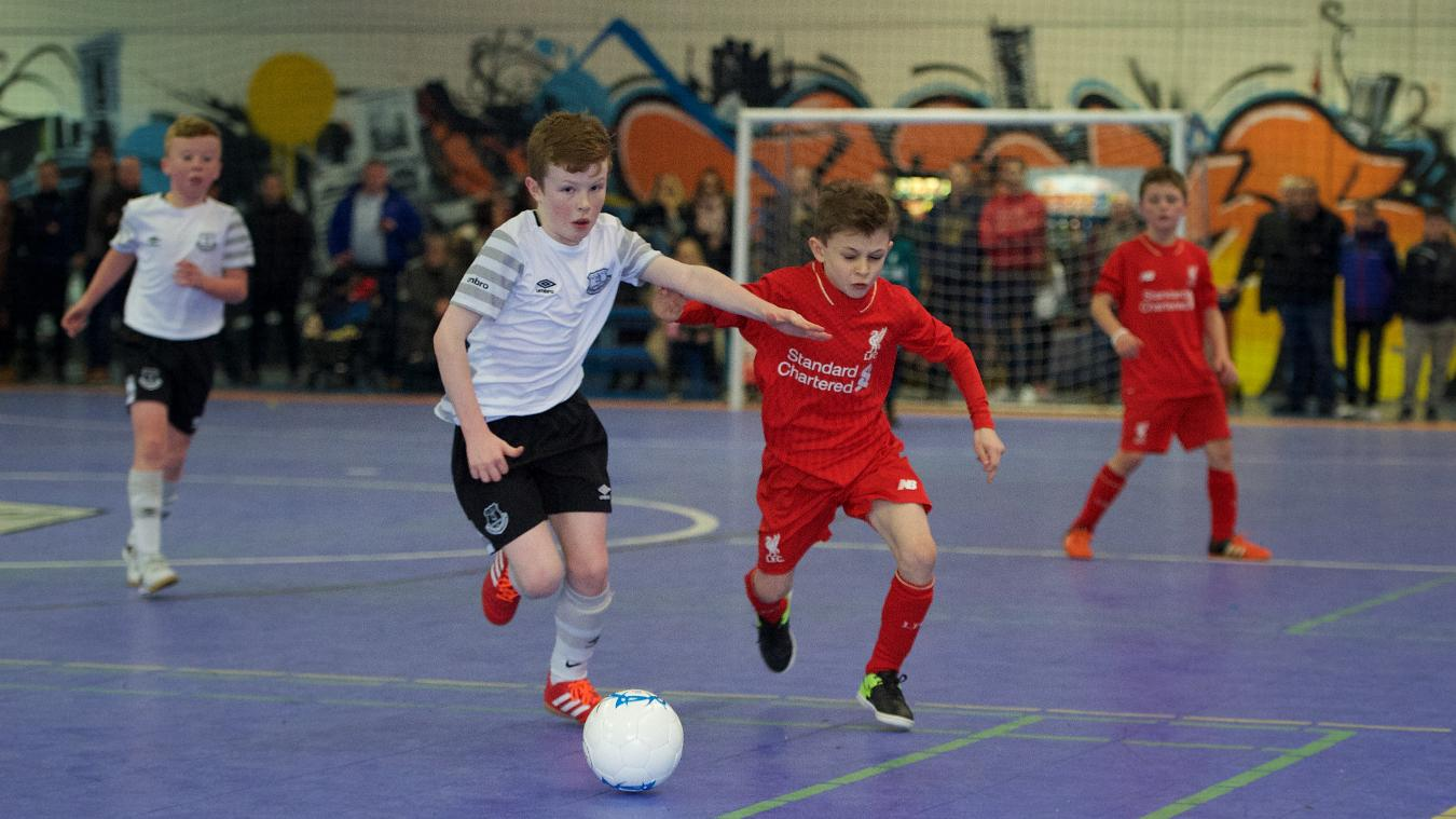 Everton also won the Under-9 title, while Liverpool were the plate winners