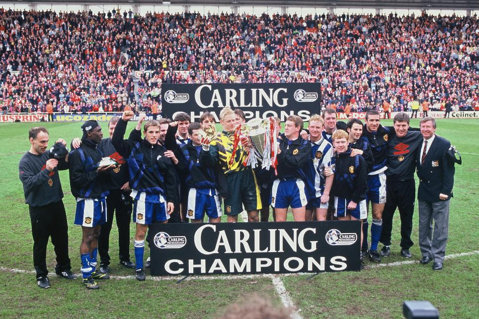 1995/96 Premier League champions: Manchester United