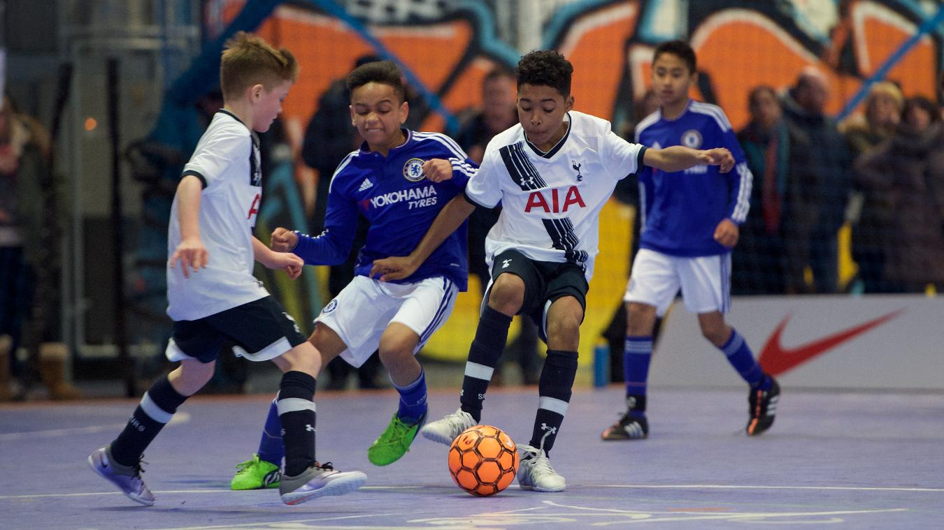 Tottenham Hotspur beat Chelsea in the Under-11 final