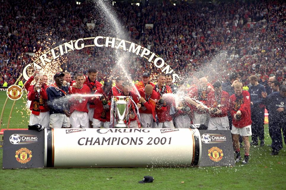 2000/01 Premier League champions: Manchester United
