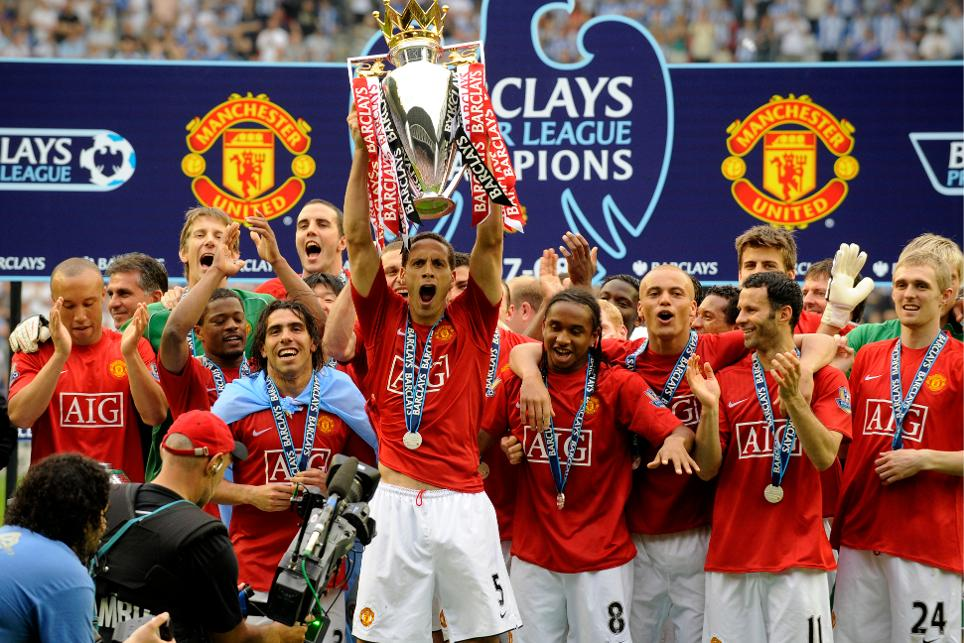 Premier league history 2007 08 season review for 07 08 championship table