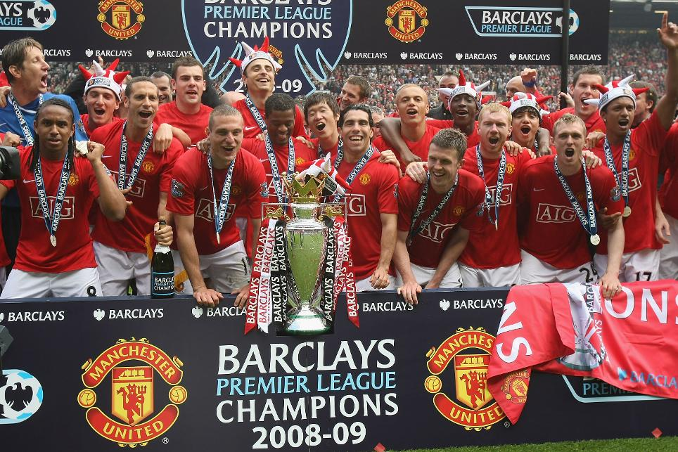 2008/09 Premier League champions: Manchester United