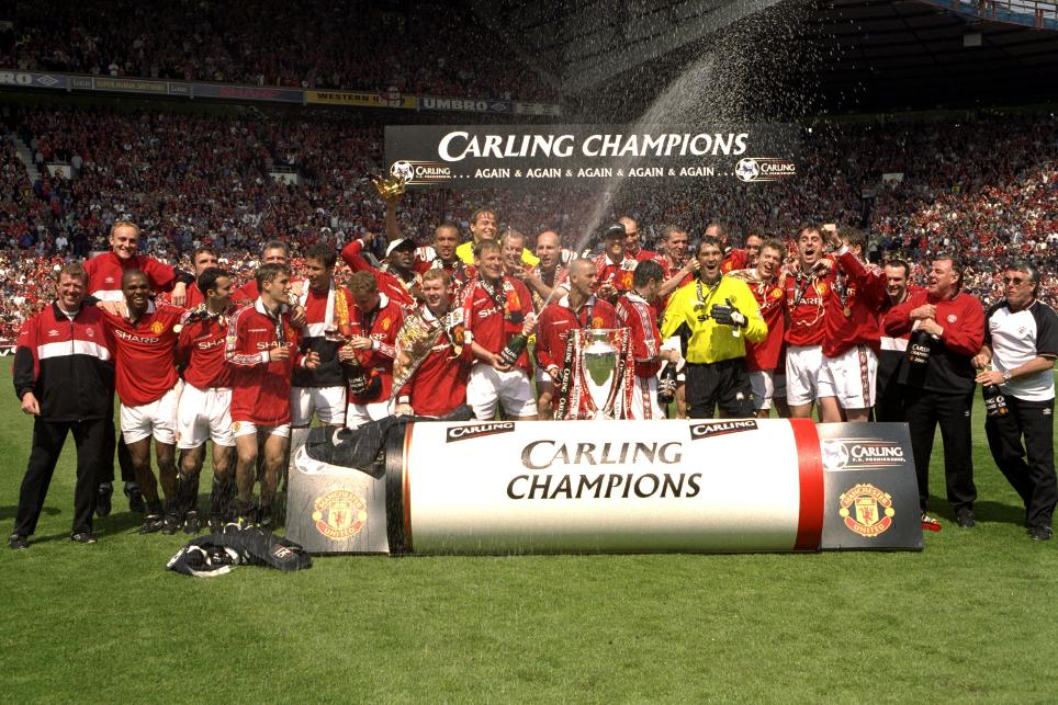 Man Utd's triumph in 1999/00 was the club's sixth in eight seasons