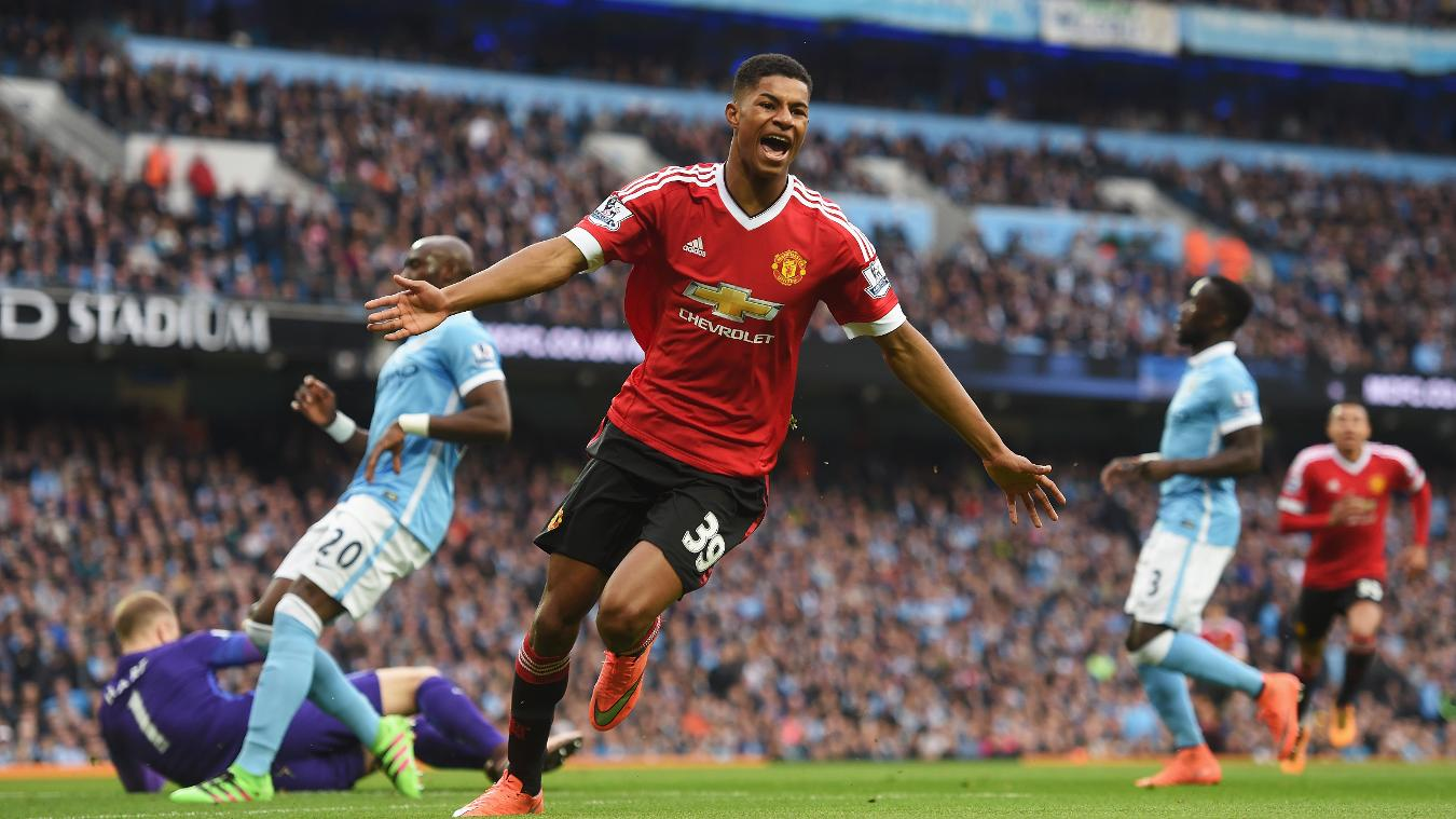 Marcus Rashford, 18, was one of 67 home-grown debutants in 2015/16