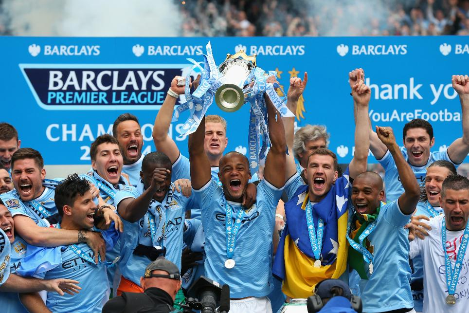 2013/14 Premier League champions: Manchester City
