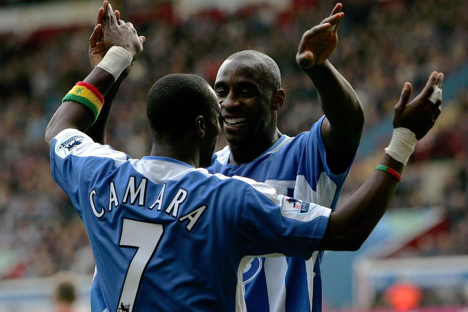 Jason Roberts (right) scored eight goals in Wigan's debut Premier League campaign