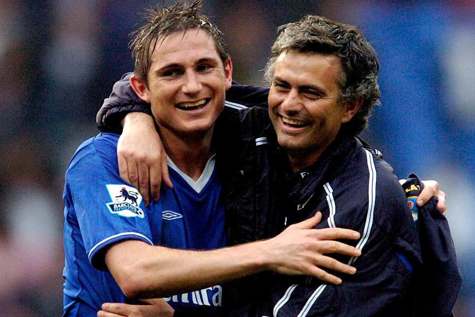 Frank Lampard said Jose Mourinho was the best manager he played for