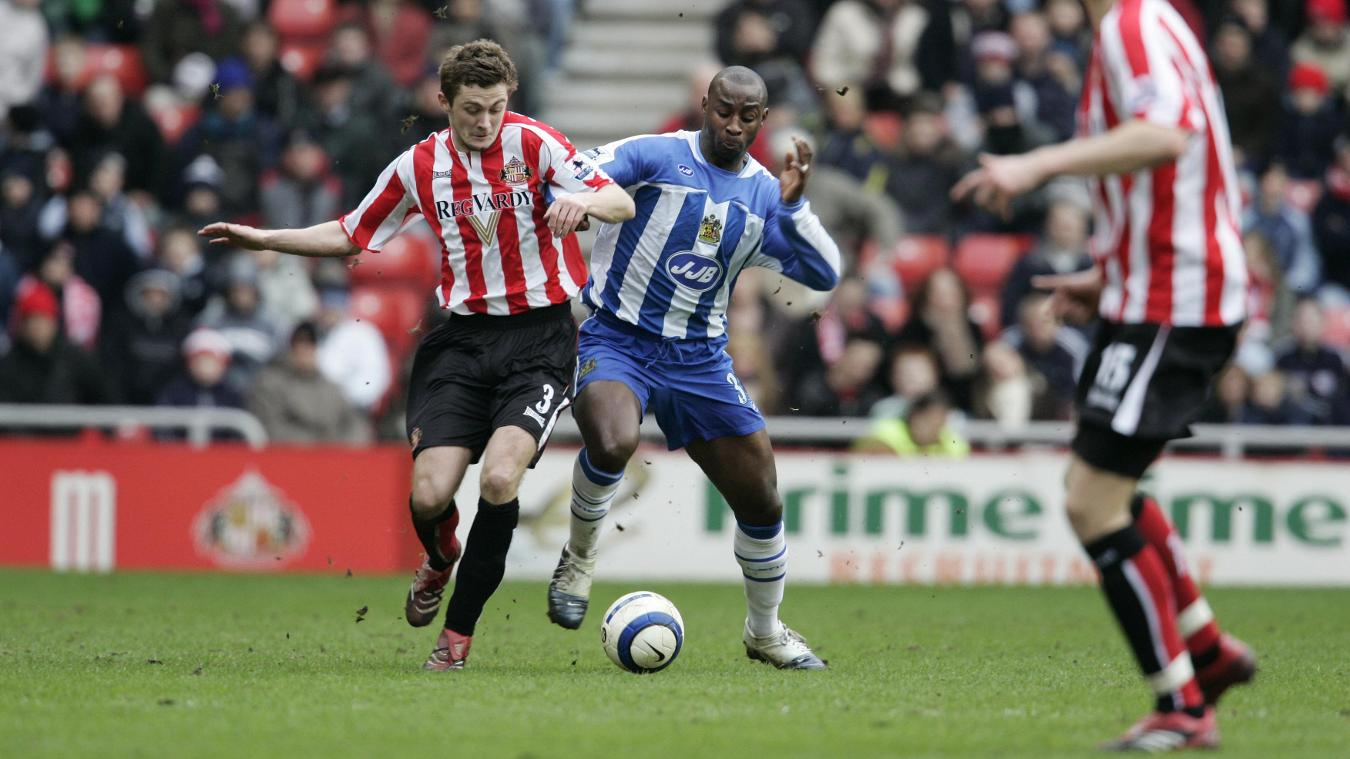 By November, Jason Roberts (right) had helped Wigan climb up to second in the PL