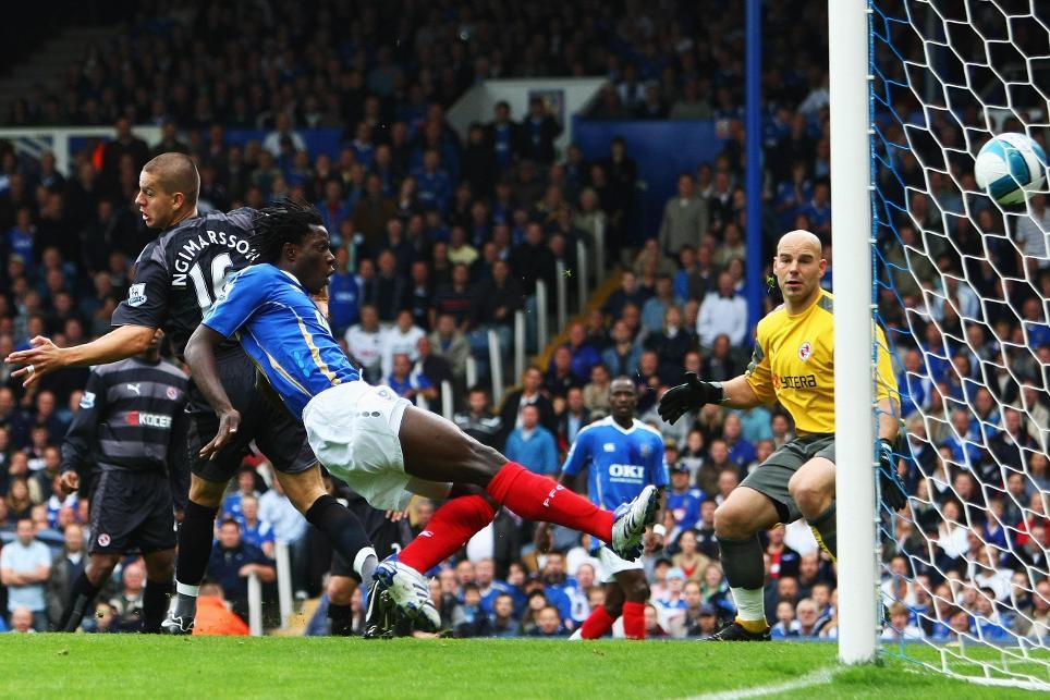 Benjani scored a hat-trick in Portsmouth's 7-4 triumph