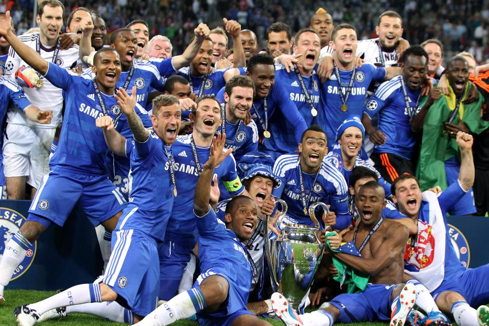 Image result for chelsea champions league