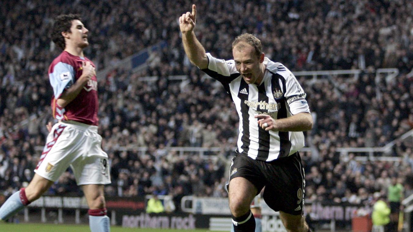 Alan Shearer is the Premier League record goalscorer with 260 goals