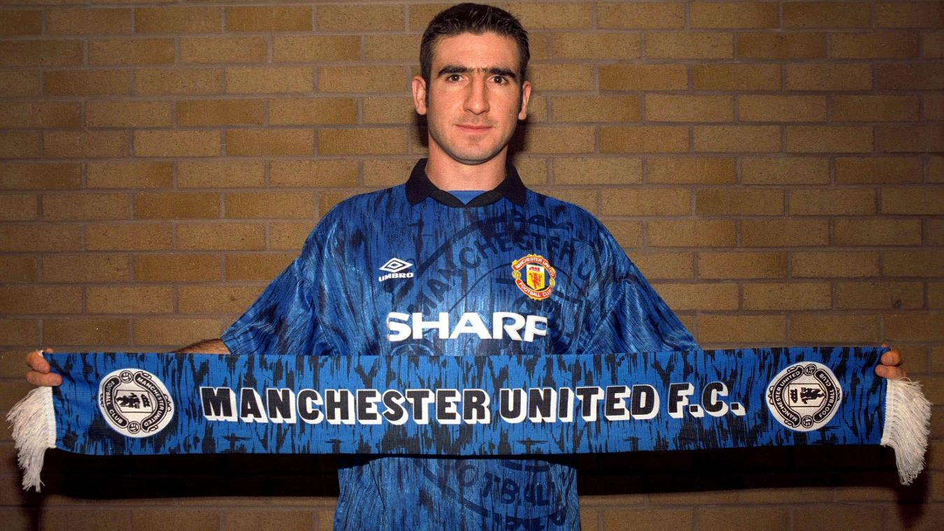 Eric Cantona joined Manchester United in November 1992