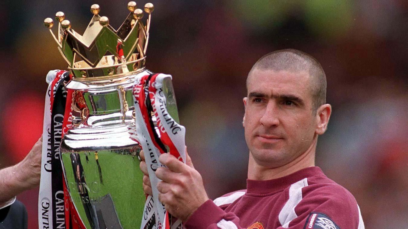 Cantona won four Premier League titles at Man Utd