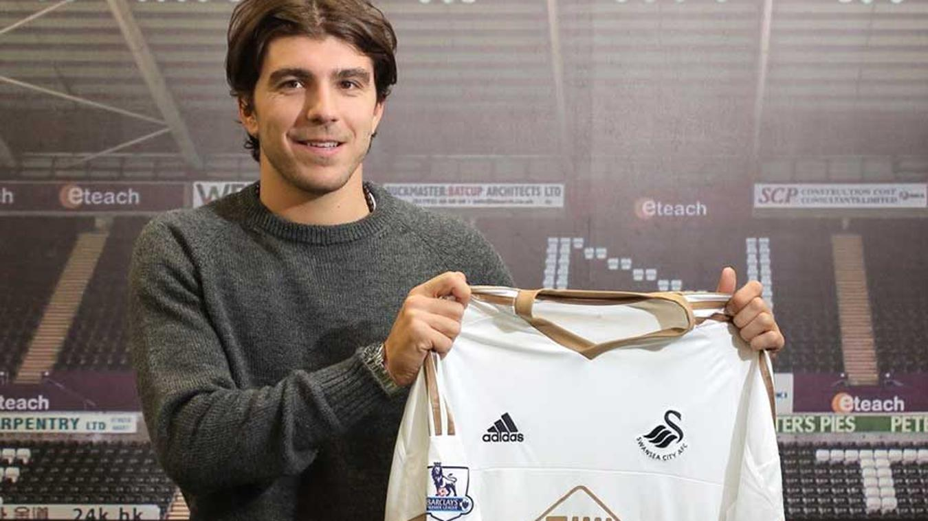 Alberto Paloschi has re-united with his old head coach Francesco Guidolin at Swansea City