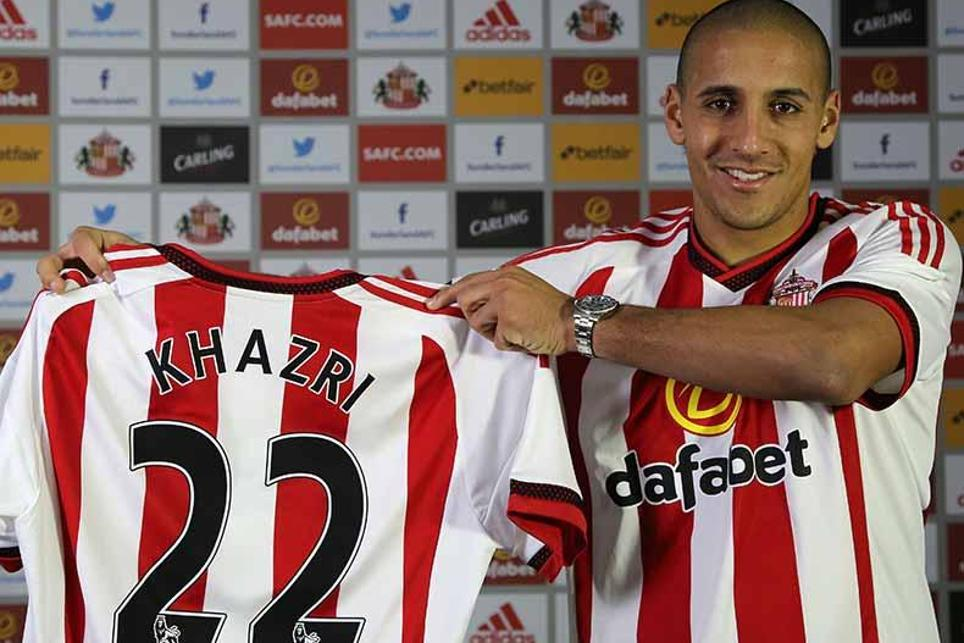 Wahbi Khazri signed for Sunderland in January 2015