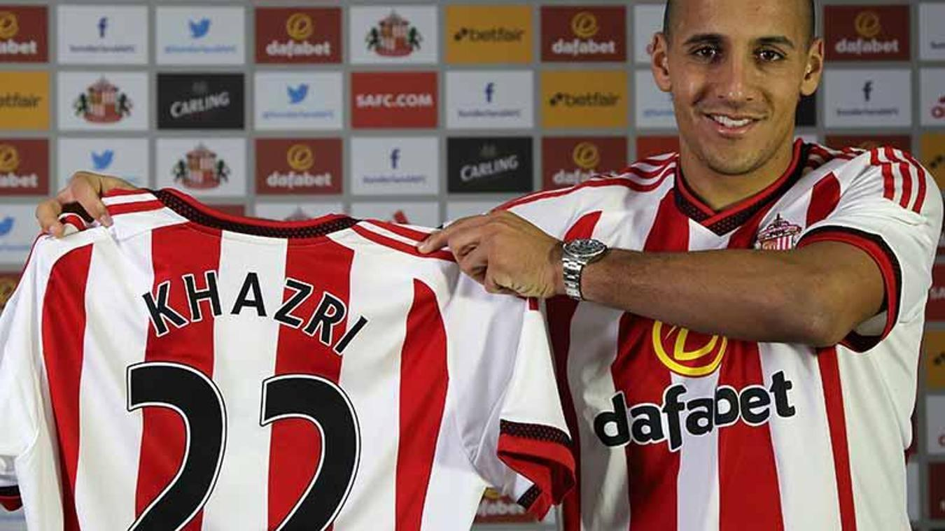 Wahbi Khasri signed for Sunderland in January 2016