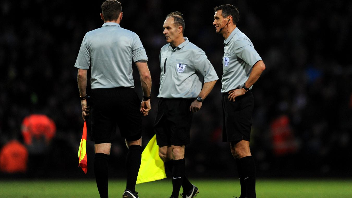 Andre Marriner (right) and his fellow Select Group officials regularly assess their own work