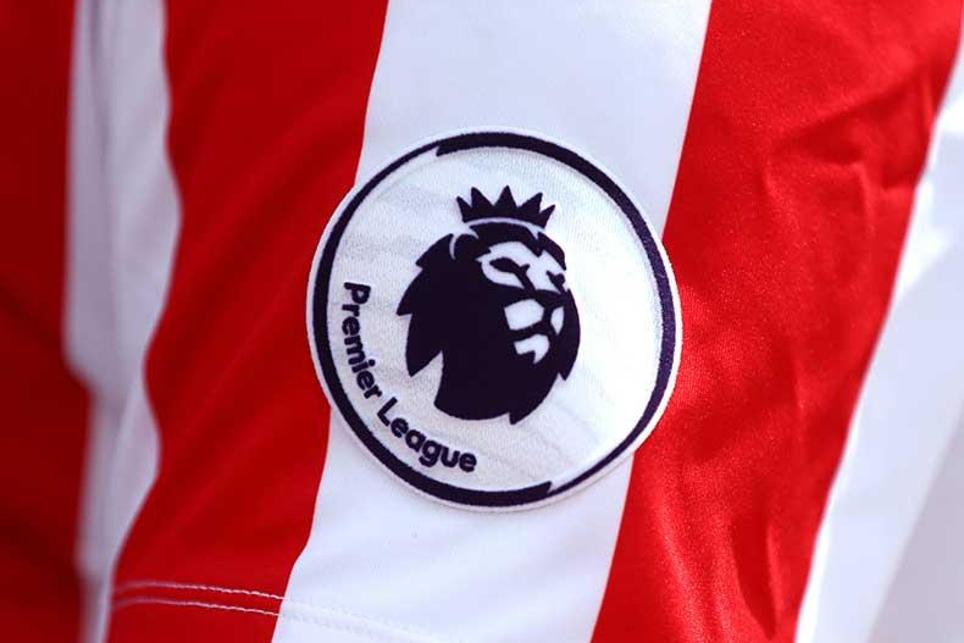 The new Premier League badge, supplied by Sporting ID, that will be on shirts next season