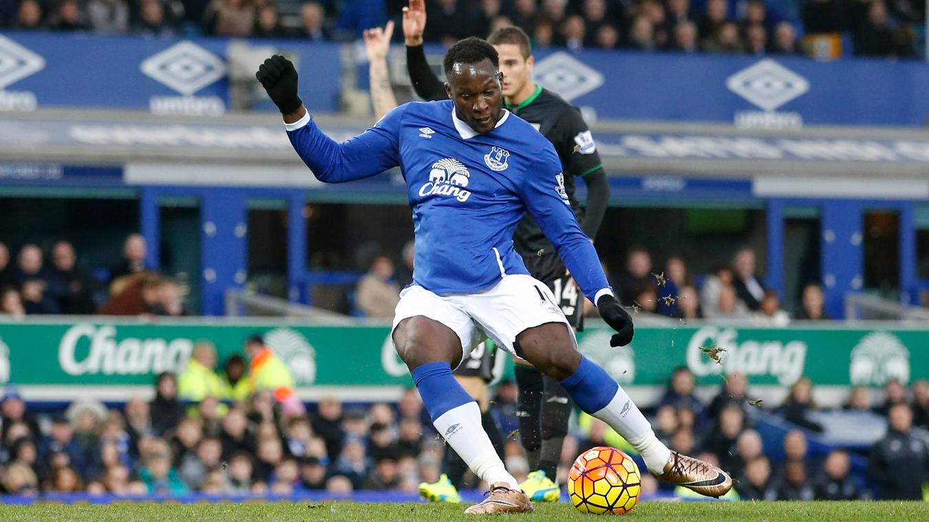 Romelu Lukaku contributed to more than 40% of Everton's goals last season