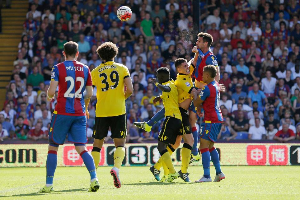 Almost half of Palace's 2016/17 PL goals came from set-pieces or penalties