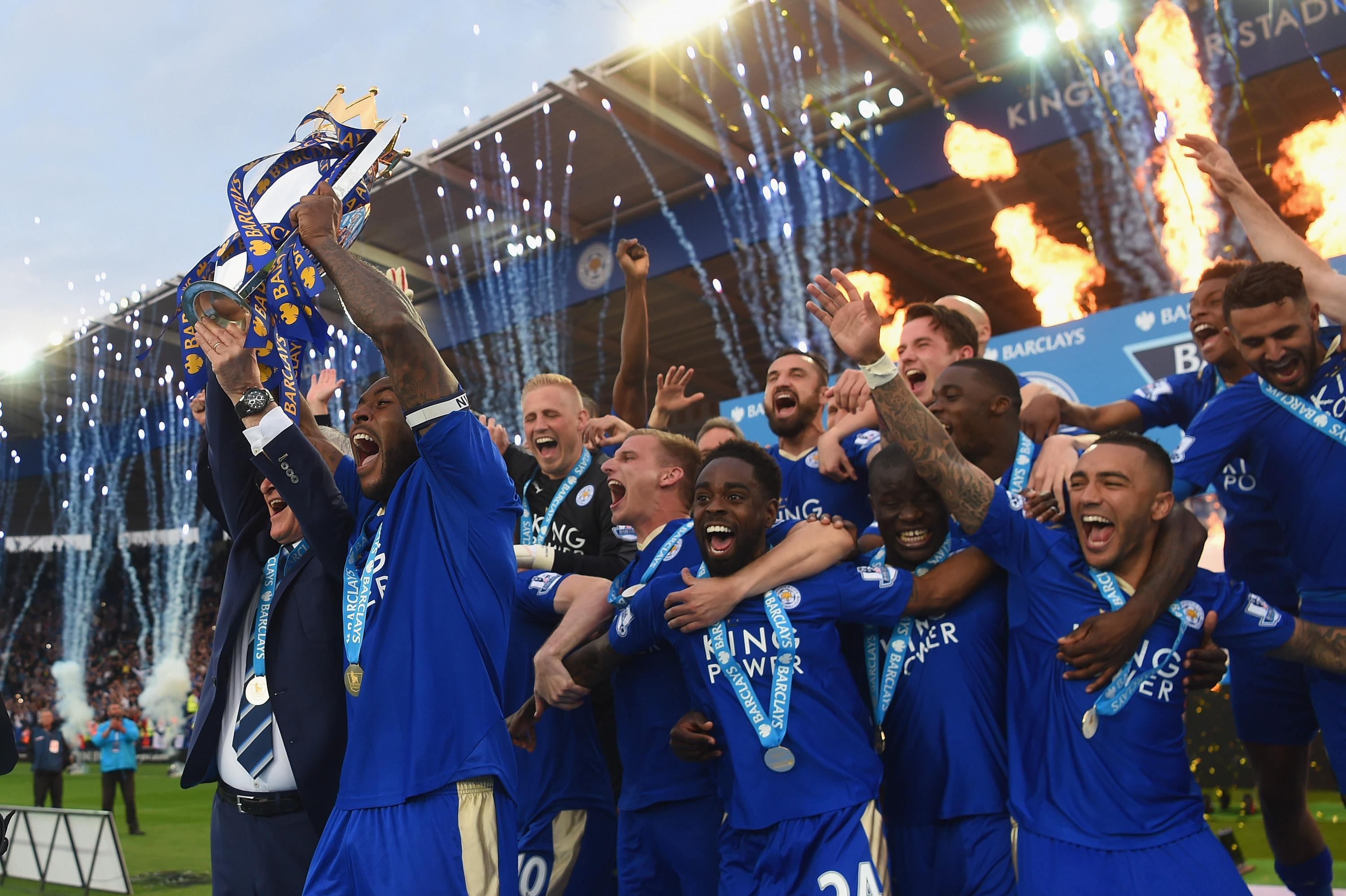 Wes Morgan Wallpaper: Leicester City Triumph Boosts Local Economy