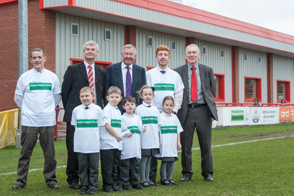 plfaff-facilities-fund-110215-sir-alex-ferguson-altrincham-pitch