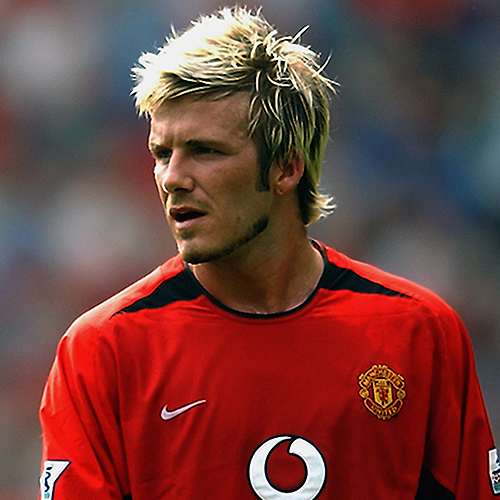 how to cut your hair like david beckham