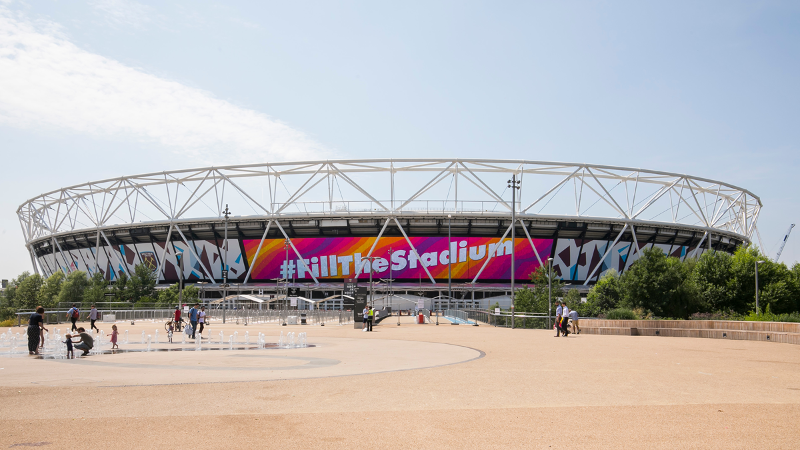 #FillTheStadium launches for record-breaking World Para Athletics Championships